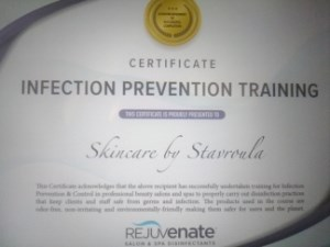 Infection Prevention Certified Photo